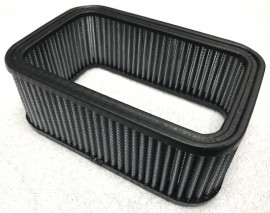 """4""""x7"""" Rectangular Finned Top Air Filters - ELEMENTS ONLY"""