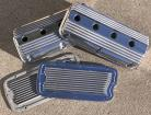 EARLY CHRYSLER HEMI Valve Covers with 2 Valley Covers Set