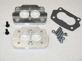 Small 4 Bolt Carb to Large 4 Bolt Intake Adaptor