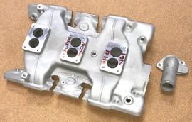 Offenhauser #5207 - 1961 thru 1964 Pontiac Tripower Intake Manifold