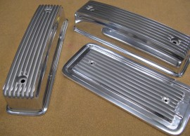 Matching MoonEyes Valve Covers & Valley Cover - 3 Pc. Sets